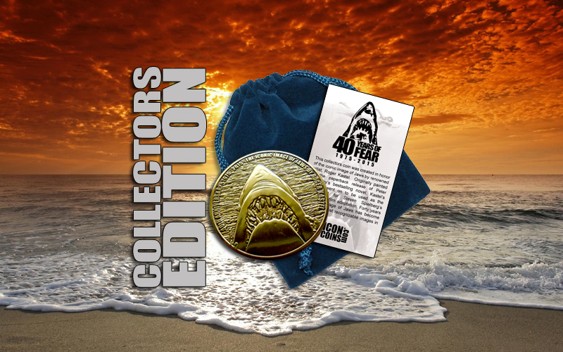 Jaws Collectors Edition Coin