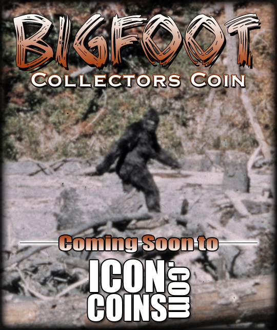 Bigfoot Collectors Coin