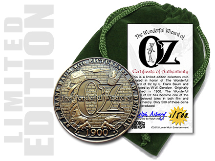 Wizard of Oz Collectors Coin