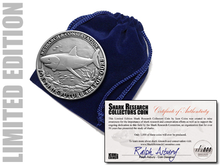 Shark Research Collectors Coin